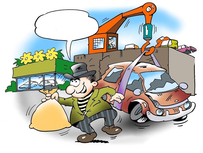 Viele Schrotthändler belohnen es zudem, wenn die Verkäufer möglichst lange sammeln.(#03)