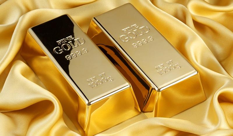 Das Edelmetall ist auch in einer konjukturschwachen Phasen eine soliden Geldanlage. Auf der anderen Seite hebt das Wirtschaftswachstum den Preis für die Goldbarren an. (#02)
