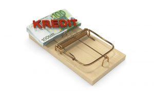 In all diesen Fällen muss der Schuldner etwas bezahlen und in den wenigsten Fällen wird ihm tatsächlich ein Kredit bewilligt. (#05)