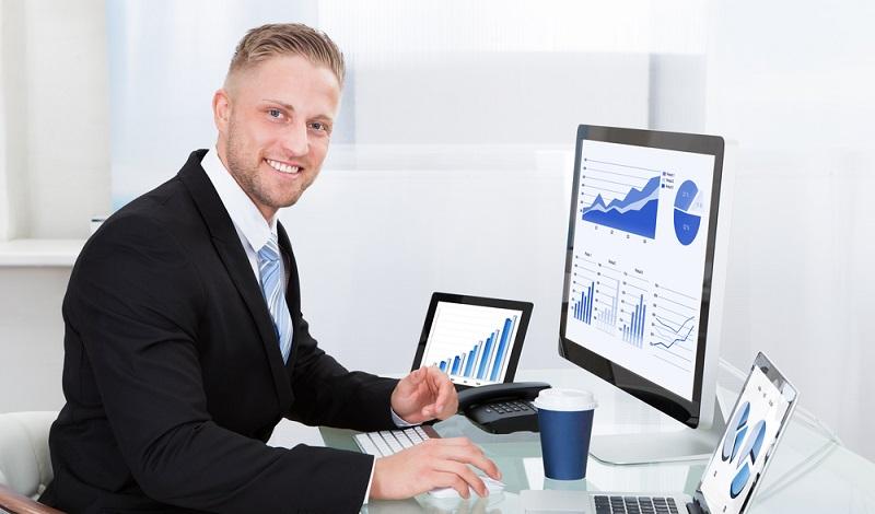 Wer an der Börse arbeitet, ist auf funktionierende Programme zur Dokumentation der Aktienkurse angewiesen. (#2)